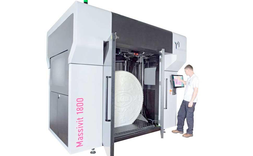 Massivit 1800 stampa 3D