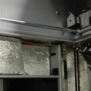 Coibentazione e ventilazione stampante 3d