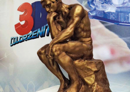 Finitura effetto bronzo 3d