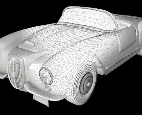 Auto d'epoca 3d 2