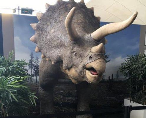 triceratop 3d massivit