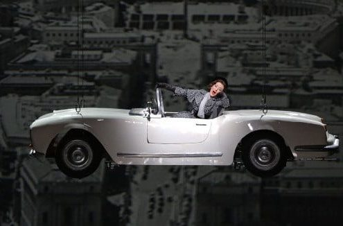 Auto d'epoca 3d